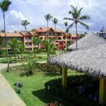 Una vista del hotel