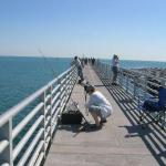 Really nice fishing pier - wish the campground was that nice