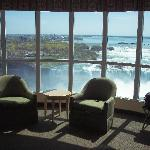 Sitting Area with views of the Falls