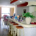 Double Suite - Kitchen/ living room