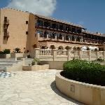 Hotel main terrace