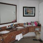 Bathroom in junior suite (there are 2 that are identical)