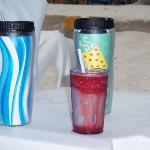 Miami Vice + thermal cups which are a must!