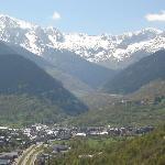 Vistas de Vielha desde Vilac