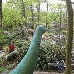 dinosaur in the lost world