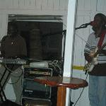 local entertainers at Paradise Restaurant in Cane Garden Bay