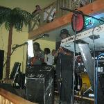 Weekend entertainment in Cane Garden Bay at Quito's featuring Quito and The Edge band