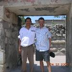 Maro and I at Mitla