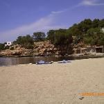 Beach near to hotel