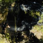 Waterfalls and swimming