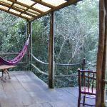 Cabin veranda