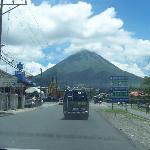 Volcan Arenal from La Fortuna