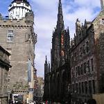The Royal Mile Edinburgh Scotland