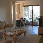 Asterias Suites Living Area