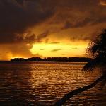 Shangri-La sunset