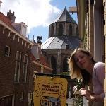 Nieuwe Kerk from Emauspoort
