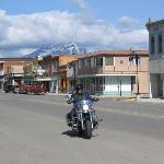 Riding on Main Street, Blairmore