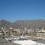 Table Mountain from balcony