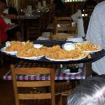 Catfish at Huck Finn's in Sevierville