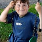 Noah on the tree swing.  Kids will love the farm.  Lots to do outside and board games to...