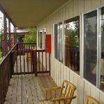 Semi-private deck