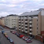 Outside my hotel window