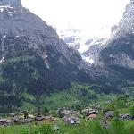Swiss Alps and Alpine Valley from Grindelwald Hike