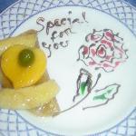 dessert in med restaurant