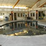 Indoor pool at BCWC clubhouse, also has exercise room, arcade, board games & movies to check...