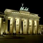Brandenburg at night