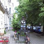 Typical Eastern Berlin Street in Prenzelburg