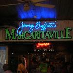 Margaritaville inside the Flamingo