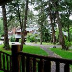 View of the Lodge from our Cabin