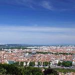 Lyon from the hill