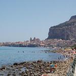 View of Beach & Cefalu