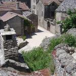 Across the roofs of La Couvertoirade
