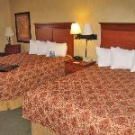 Room 333 two comfortable queen beds