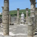 Statue replica in forum