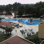 view from 4th floor of pool