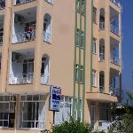 Street view of Hotel Esya