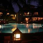 l'hotel, vue de nuit
