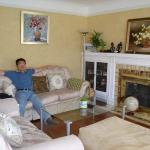 Very comfy living room