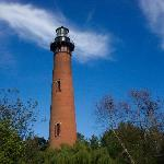 the corolla lighthouse is nearby