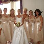 Bride/bridesmaid at Adaberry