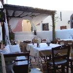 Our special Oia restaurant