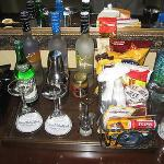 """""""The mini bar was nice to look at"""""""