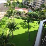 Condo grounds from Unit 810 Lanai