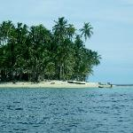 an island in San Blas
