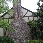 Chimney at Harvest Inn