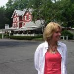 Me in front of the Springside Inn!